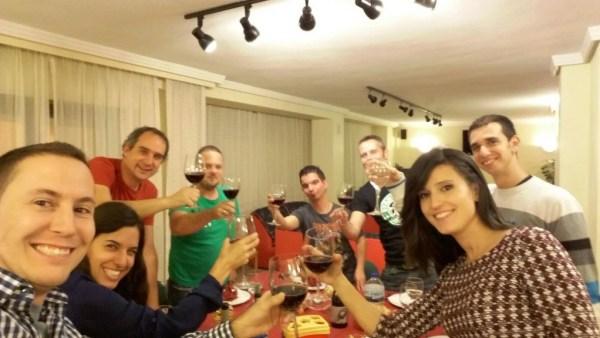 Cena en el Hotel Torres de los miembros de Tu Blog de Viajes
