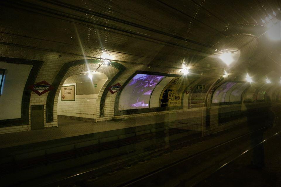 Andén Cero, la estación fantasma de Chamberí