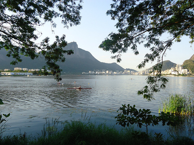 La lagoa, Río de Janeiro