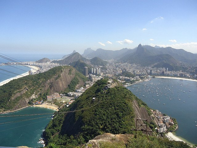 Río de Janeiro desde el Pan de Azúcar