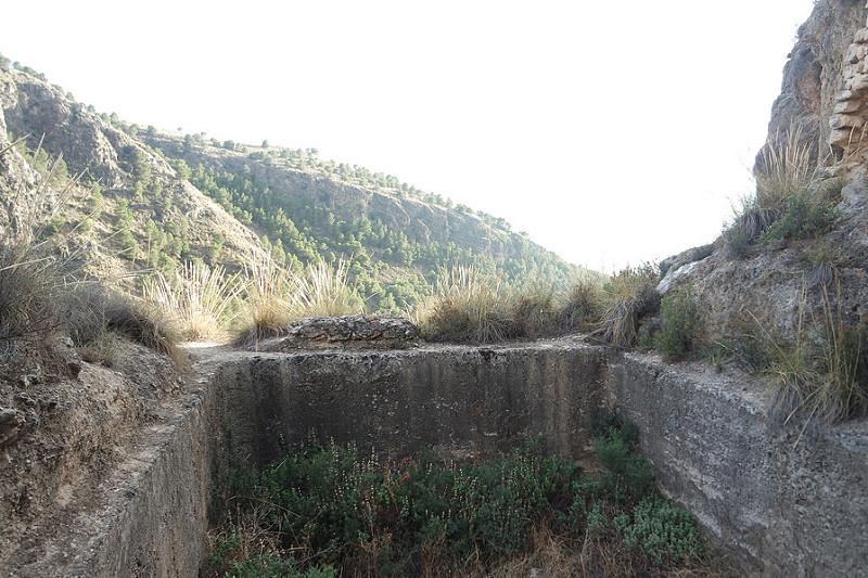 Aljibe, castillo de Soraya, Mondújar