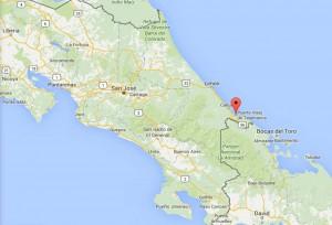 Mapa Puerto Viejo Costa Rica