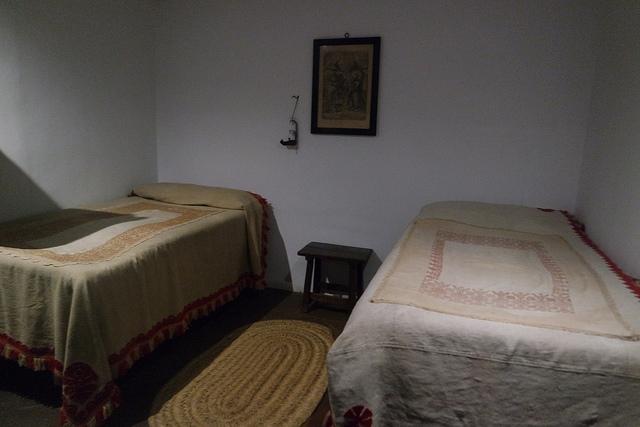Dormitorio de las sirvientas