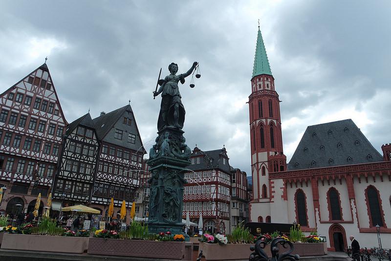Plaza de Römenberg, Frankfurt