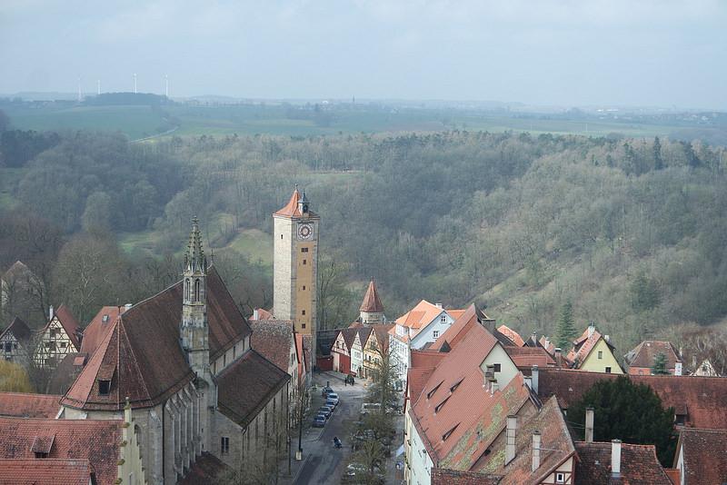 Rotemburgo desde la Torre