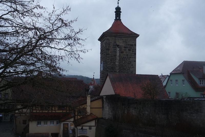Rotemburgo desde la muralla