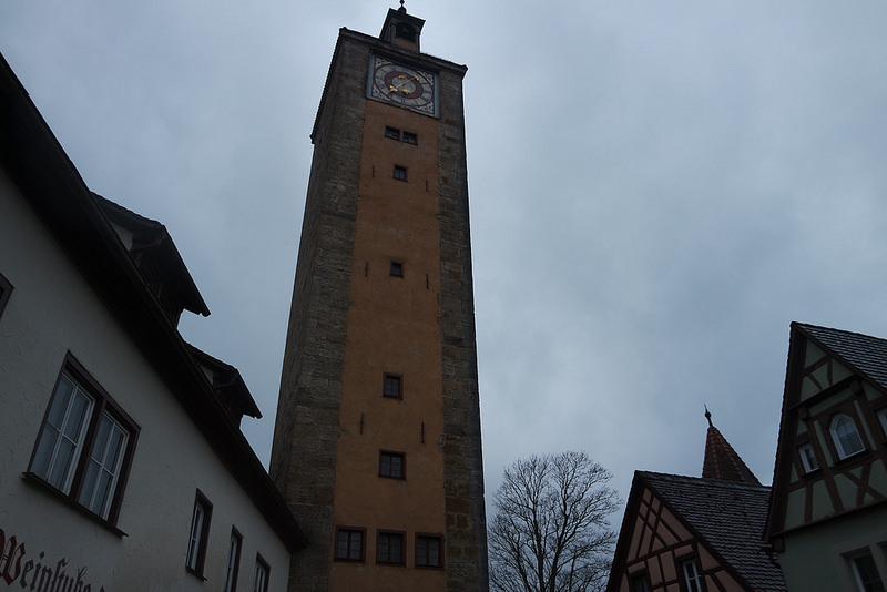 Torre de la muralla de Rotemburgo