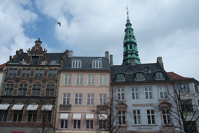 Calles del centro de Copenhague