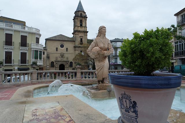Fuente de la Mora en Alcalá la Real