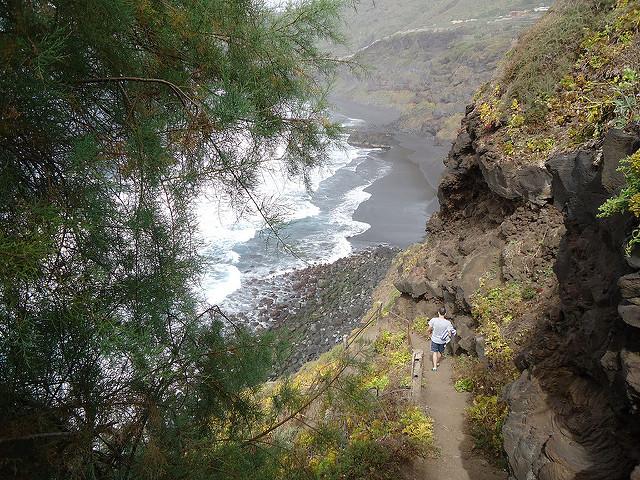 Playa el Bollullo, norte de Tenerife