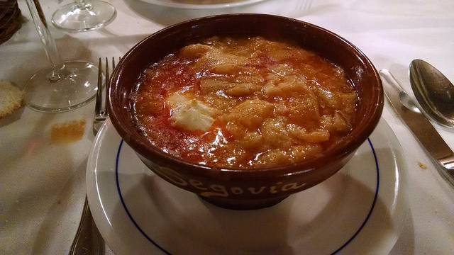 Sopa castellana en El Duque