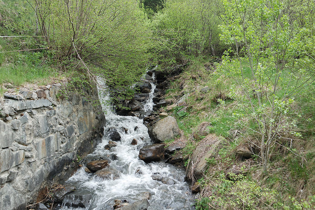 Cascada, ruta del Ferro, Andorra