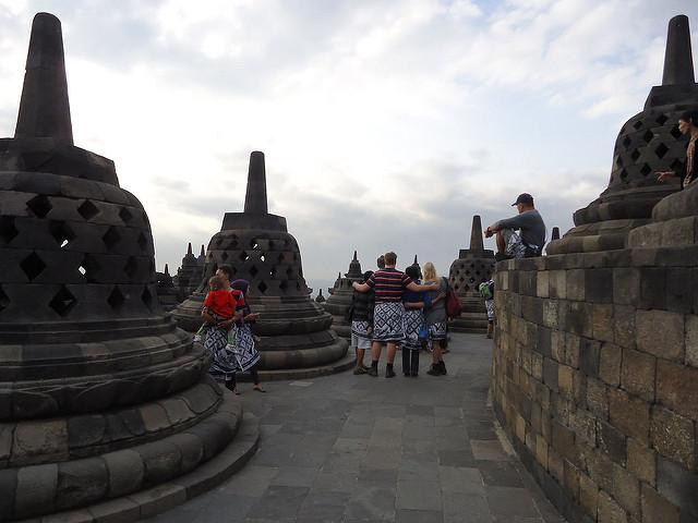Fotos en Borobudur