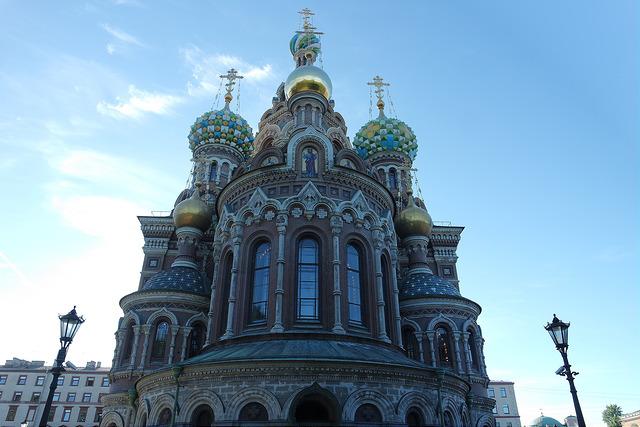 Iglesia de la Sangre Derramada, San Petersburgo