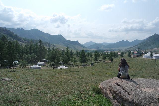 Yurtas de Mongolia