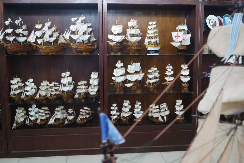 Maquetas de barcos, Curepipe