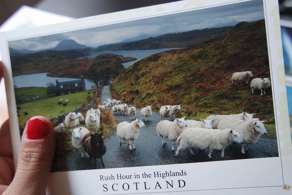 Una postal desde las Highlands