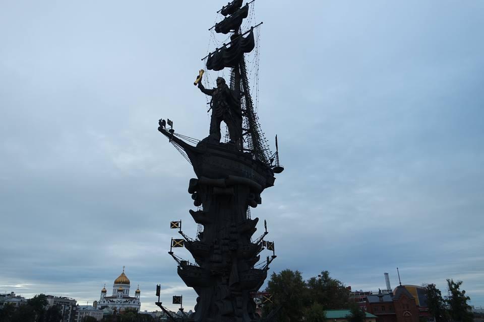 estatua-de-pedro-el-grande-moscu
