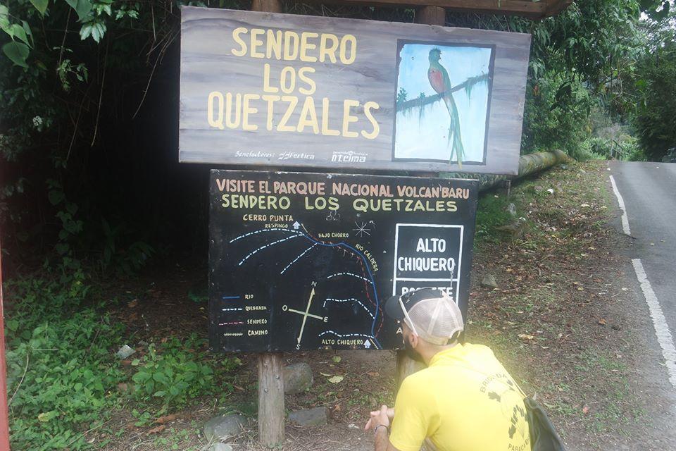 Boquete, sendero de los quetzales
