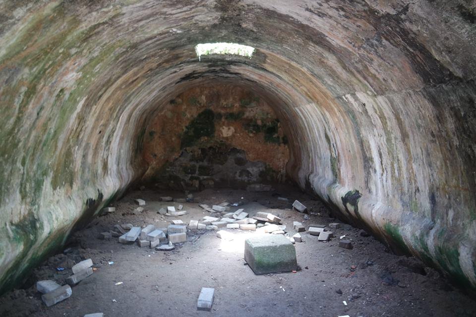 Bóveda, Fuerte de San Jerónimo