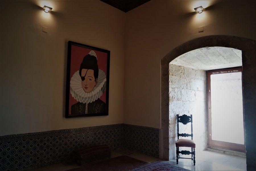 Habitación - celda de la princesa de Éboli en el palacio de Pastrana