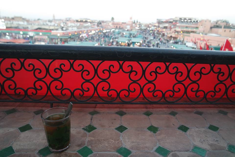 Té de menta en Marrakech