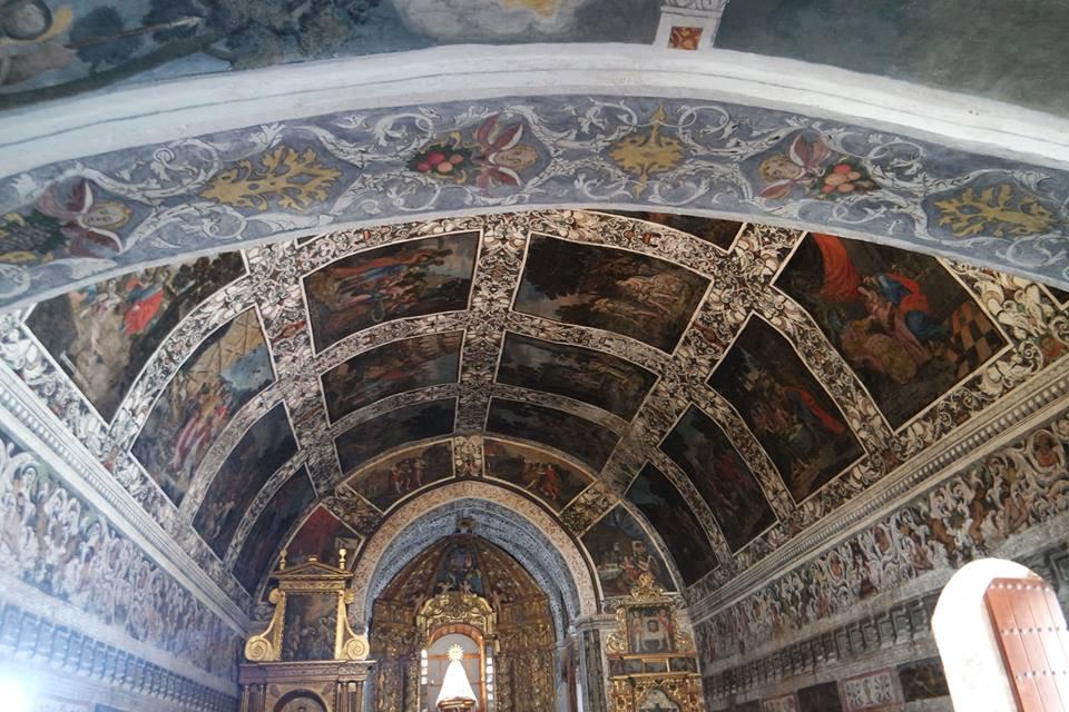 Techos de la ermita de la virgen del Ara, Campiña Sur de Badajoz