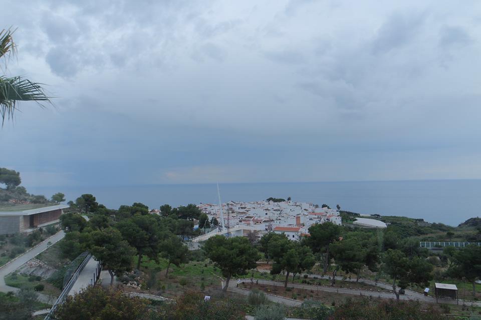 Vistas de Maro desde el restaurante de la Cueva de Nerja