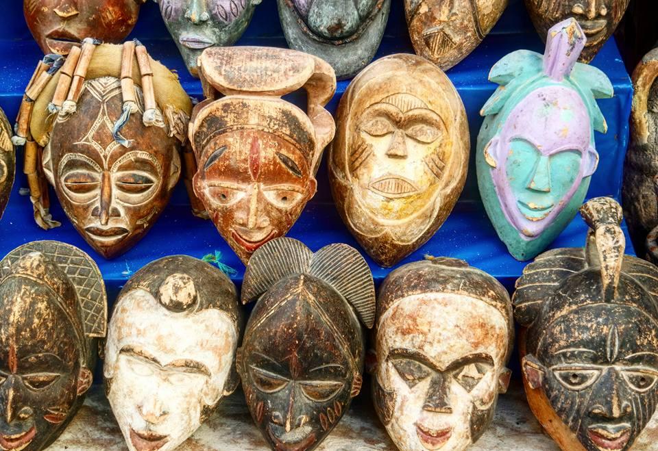 Máscaras africanas, Essaouira
