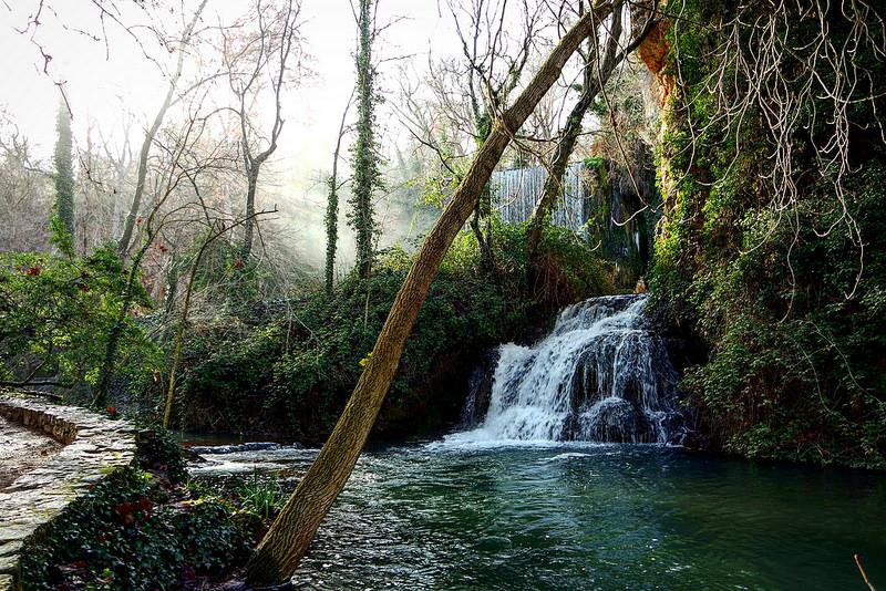 Baños de Diana, monasterio de Piedra