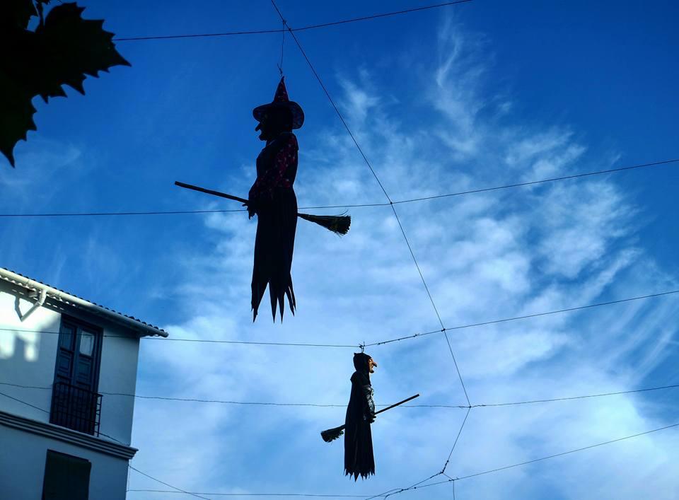 Qué ver en Lanjarón, noche de brujas en Halloween