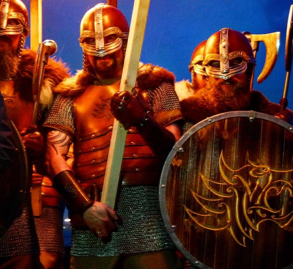 Vikingos en Escocia en el festival Up Helly Aa