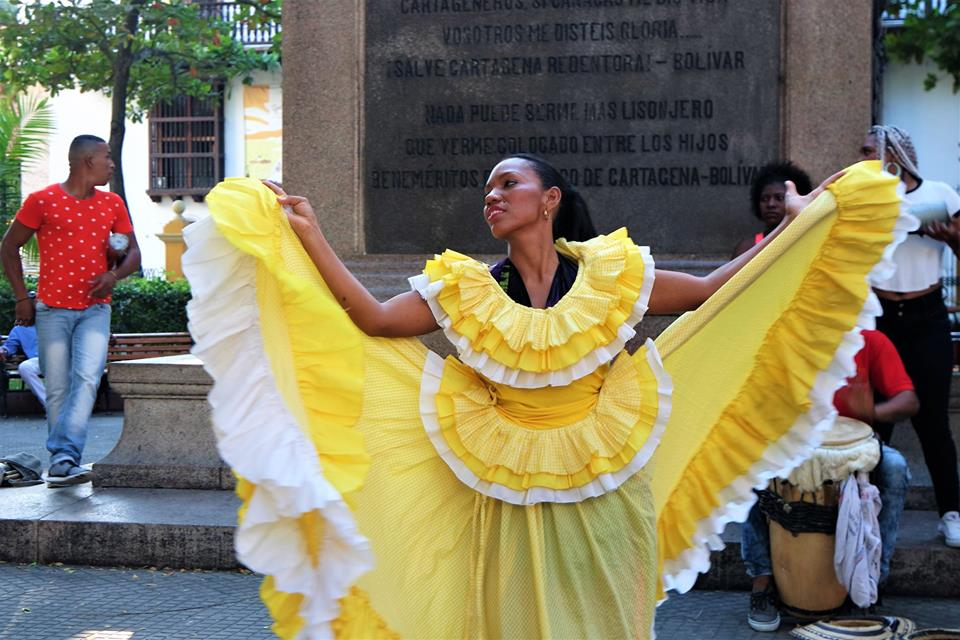 Bailarina, Cartagena de Indias