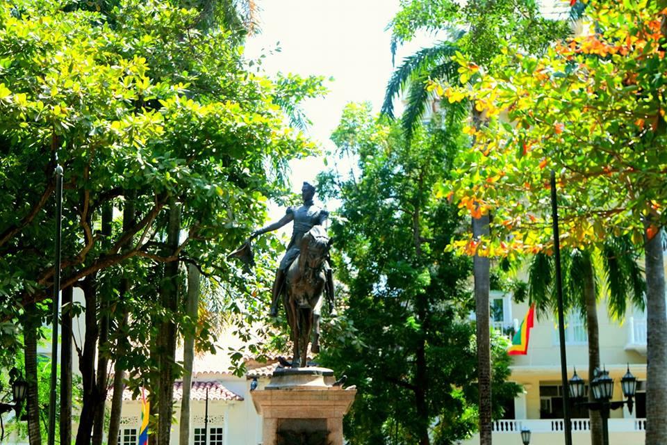 Simón Bolívar, Cartagena de Indias