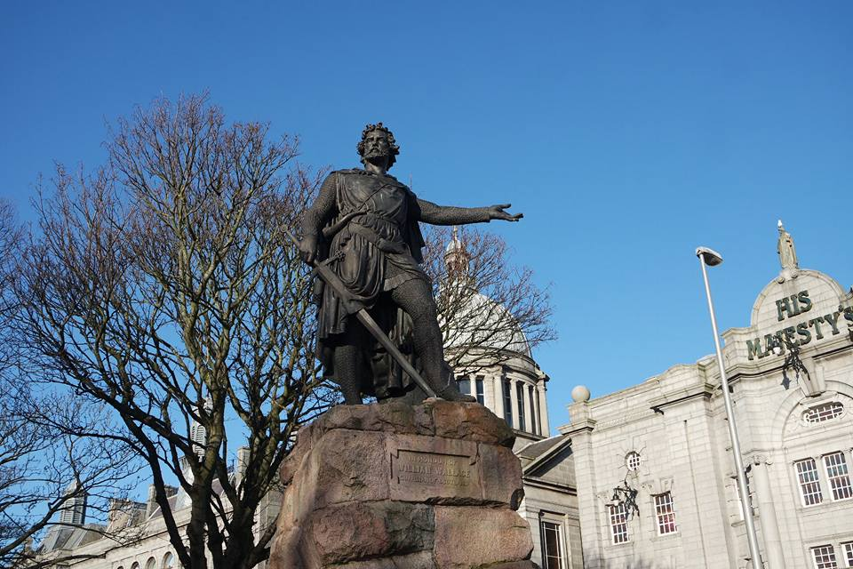 William Wallace, qué ver en Aberdeen