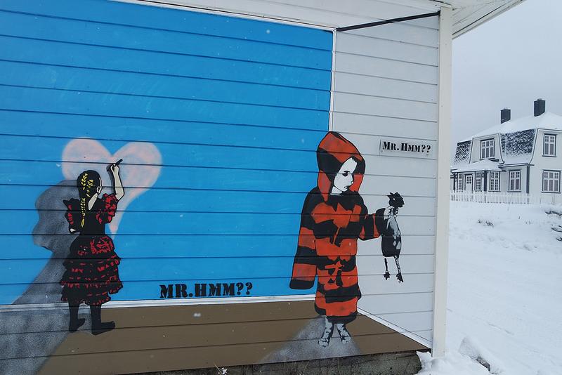 Grafiti, islas Lofoten