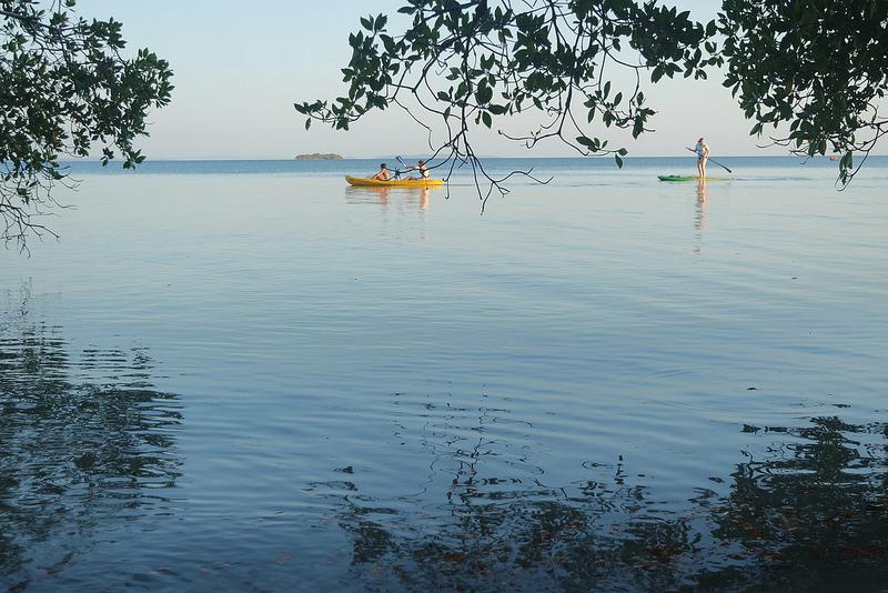 Kayak en las Islas del Rosario