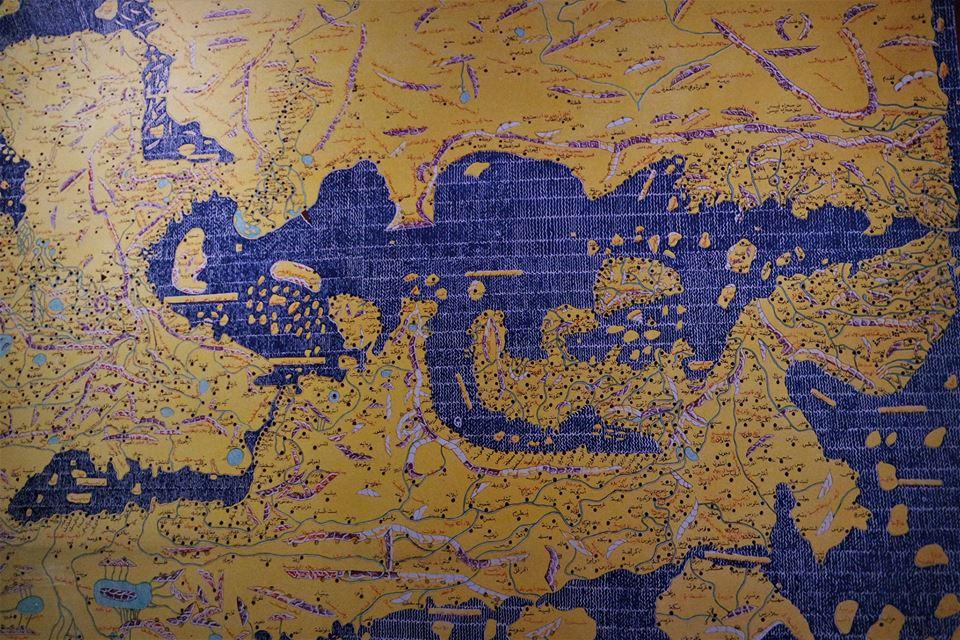 Mapa del Mediterráneo de Ibn Matuta, Tánger