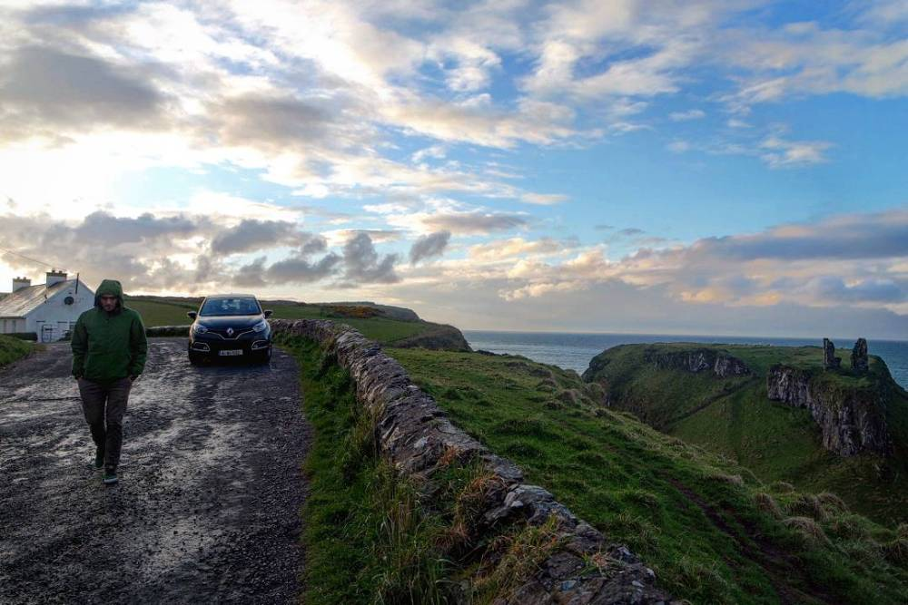 Ruta en coche por Irlanda del norte