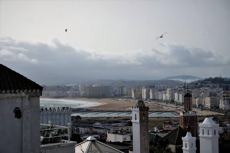 Vistas de Tánger desde la terraza de La Tangerina
