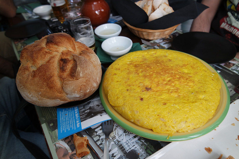 Tortilla de O Rincón de Mondoñedo