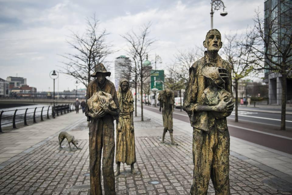 El hambre, Dublín