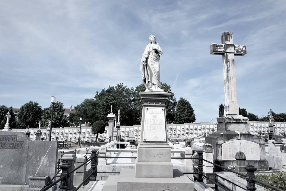 Nichos, cementerio de Avilés
