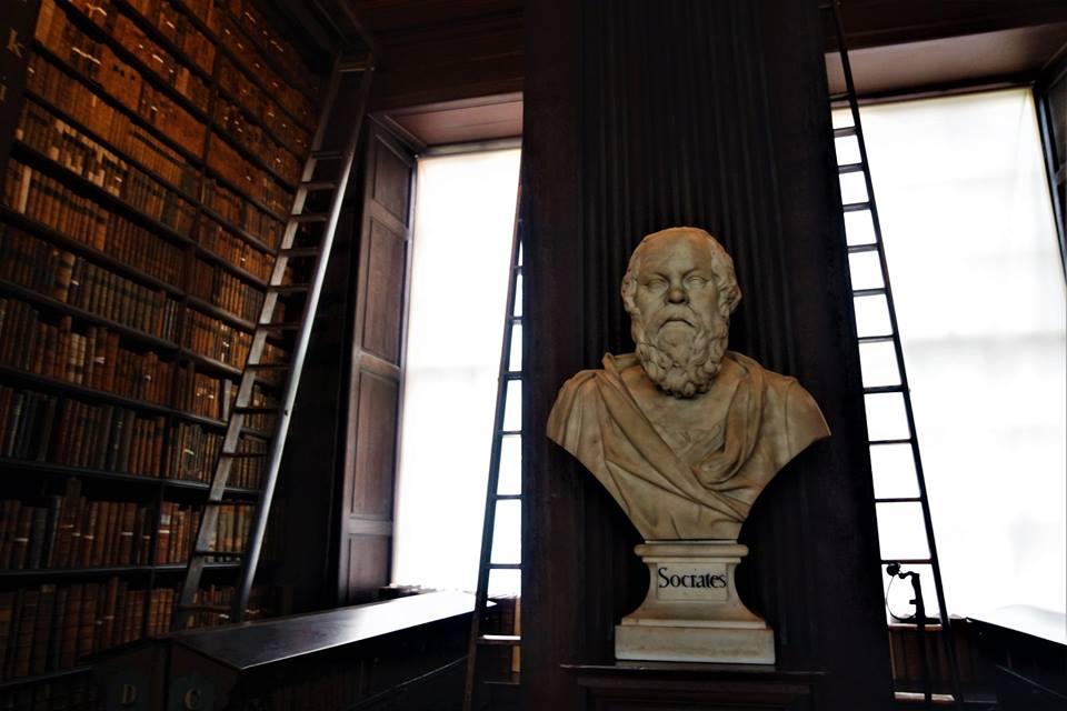 Sócrates, Biblioteca del Trinity College