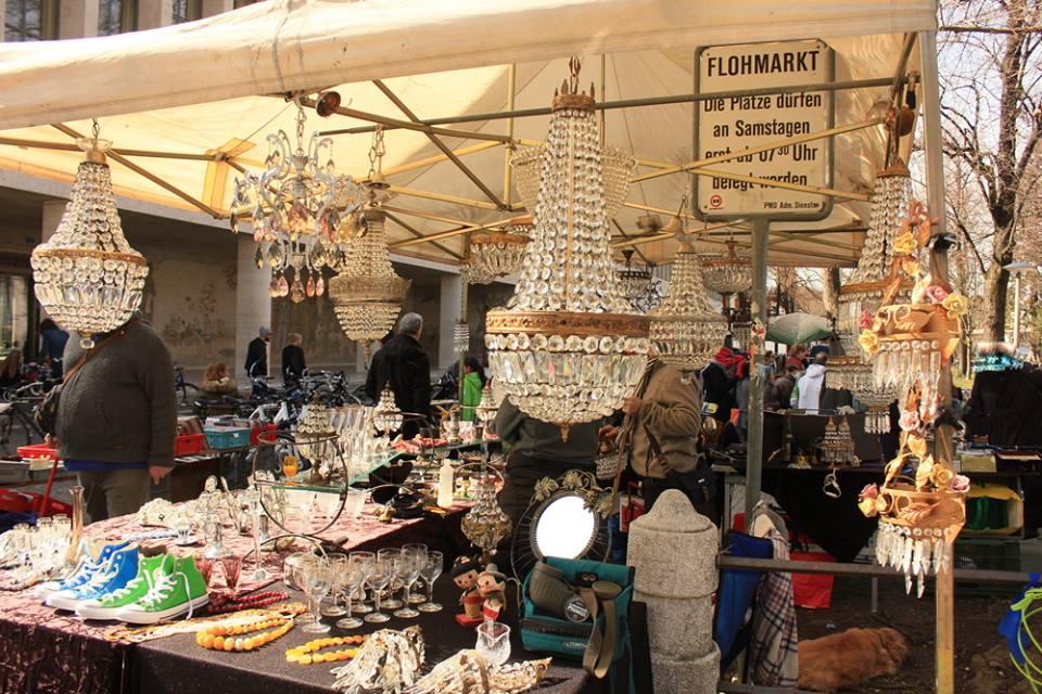 Mercado de antigüedades de Basilea