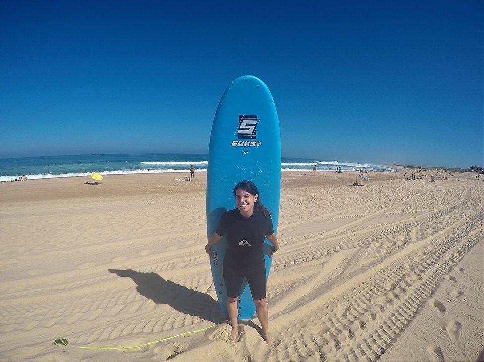 Surf en Las Landas francesas