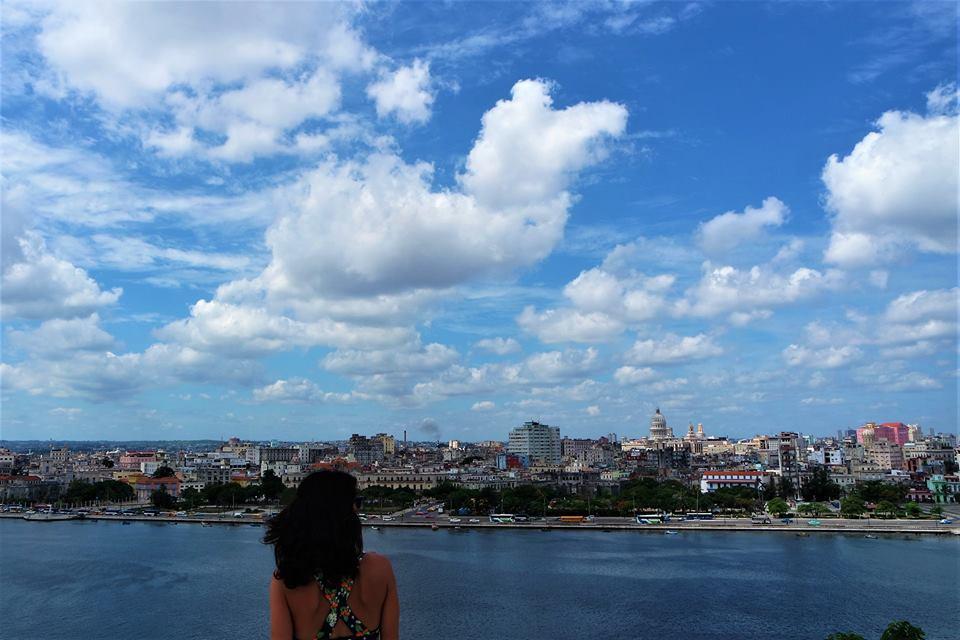 Vistas de La Habana desde la fortaleza de San Carlos