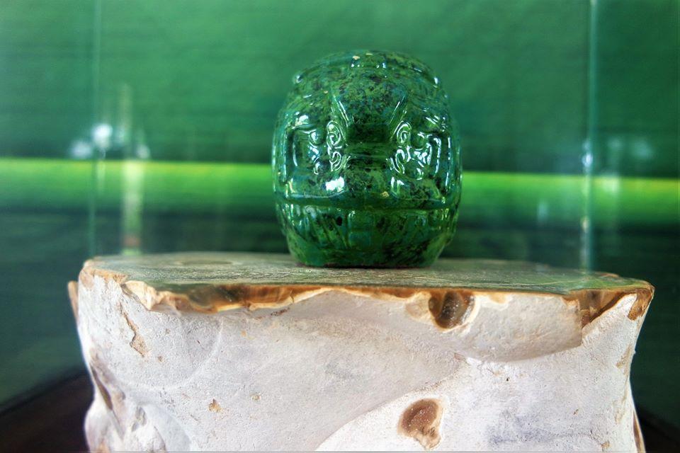 Máscara de jade del dios Sol, Altún Ha