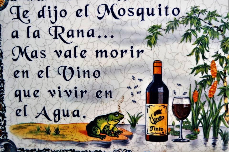Dichos populares sobre el vino, Montilla