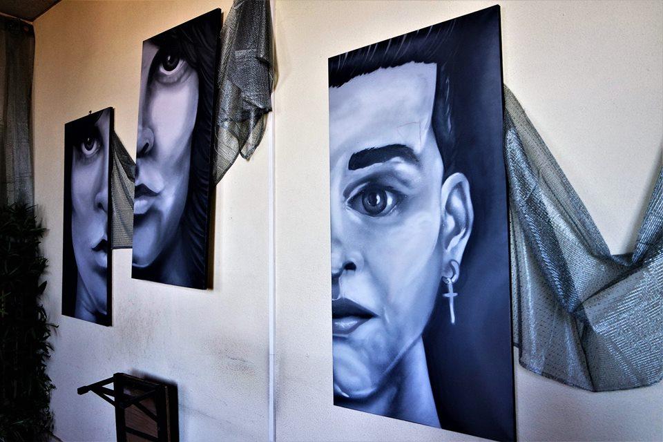 Exposición de arte en Braço de Prata